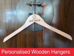 Personalised Wooden Hangers
