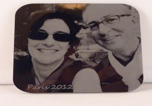 Acrylic Photo Engraving