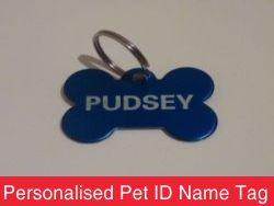 Personalised Pet ID Name Tag